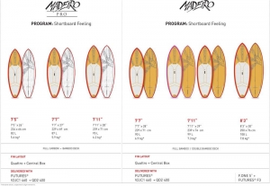 F-One 2014 Madeiro wave boards