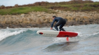 Endless Stand up paddle foil wave
