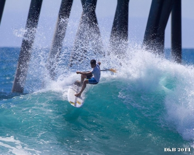 Mo Freitas and Giorgio Gomes in big and small wave