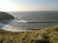 Wave SUP Secret Spot in Wales