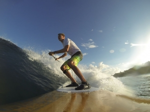 iSUP.be Wave SUP in Puerto Rico