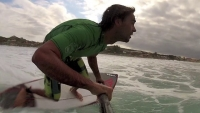 SUP Coaching - Top turn frontside