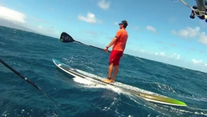 SUP Downwind Run with Livio Menelau