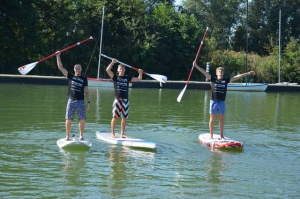 SUP @ MOTUScross triatlon