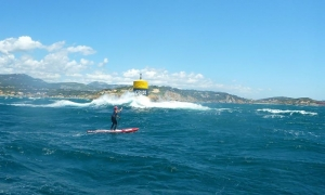 Crazy Downwind paddle!!!