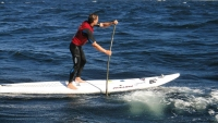 Paddeling the atlantic ocean on a SUP