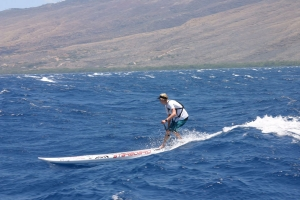 The Maui Paddleboard race