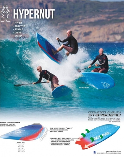 Starboard Hypernut: The Future of Small Wave SUPing?