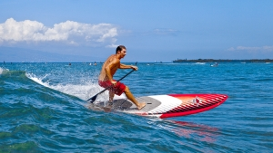 Shortboard Sup action by JP rider Jackson Close